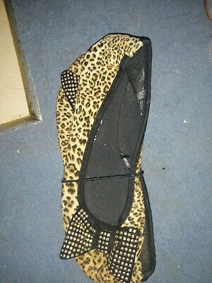 Leopard Dolly Shoes Size 5 • 1.50£