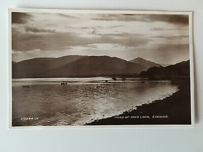 Holy Loch Postcard - Evening - Valentines - Unposted • 2.25£