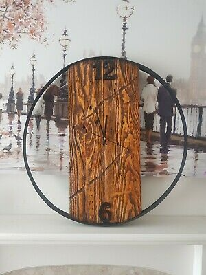Large Wooden Clock • 100£