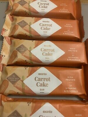 £9.49 • Buy 5 X Exante Diet Bars Carrot Cake Flavour 60 Gram High Protein