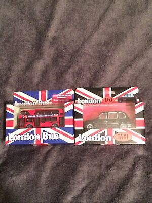 London Taxi And London Bus Toy Car Collectable Boxed • 9.99£