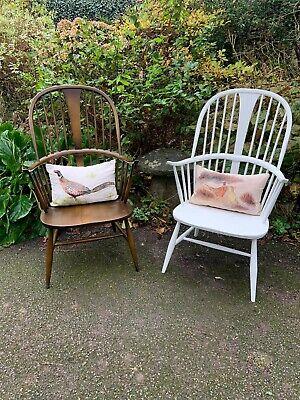Vintage Retro 60's Ercol Ercol Windsor Chairmakers Fireside Armchair (model 911) • 850£