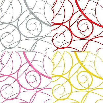 £1.95 • Buy Swirls Cellophane Wrapping Paper   Wedding Birthday Christmas Hampers Wrap