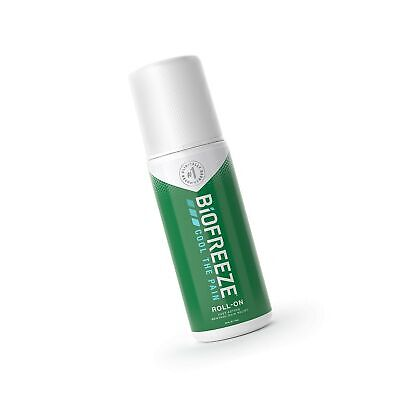 £14.34 • Buy Biofreeze Pain Relief Roll-On, 3 Oz. Roll-On, Fast Acting, Long Lasting, & Po...