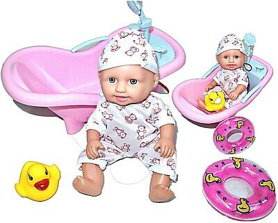 £8.99 • Buy Baby Born Interactive Dolls With Accessories & Lifelike Functions Bath Play Set