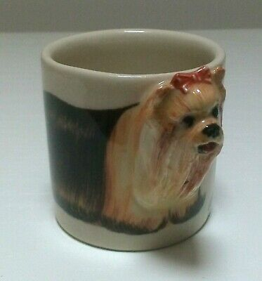 Yorkshire Terrier Ceramic Small Mug Cup By Blue Witch  • 8.99£