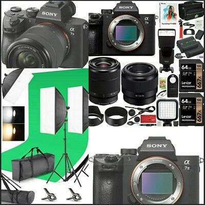 $ CDN2458.88 • Buy Sony Alpha A7 III Bundle. Frame & 2 Lenses With Neewer Back Drops And Softlight