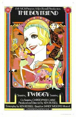 £7.99 • Buy THE BOYFRIEND (Twiggy/Christopher Gable) Film Poster - Glossy A4 Print