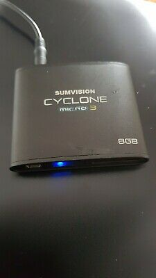 Sumvision Cyclone Micro 3 Full HDMI 1080P Multi Media Player 8GB • 3.95£