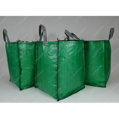 £6.50 • Buy 120L Garden Waste Bags - Heavy Duty Large Refuse Sacks With Handles