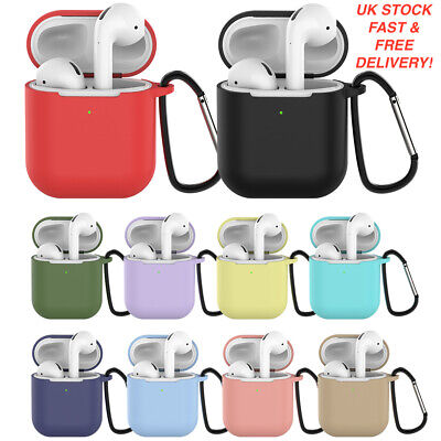 $ CDN5.33 • Buy Case For Apple AirPods 1/2 Silicone Wireless Headphone Charging Case
