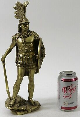 Art Deco Military Greek Roman Warrior Soldier Cold Cast Figure Figurine Statue • 66.80£