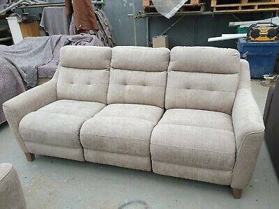 3 Piece Suite Power Recliner. 3 Seater Sofa & 2x Arm Chairs - Delivery Available • 900£
