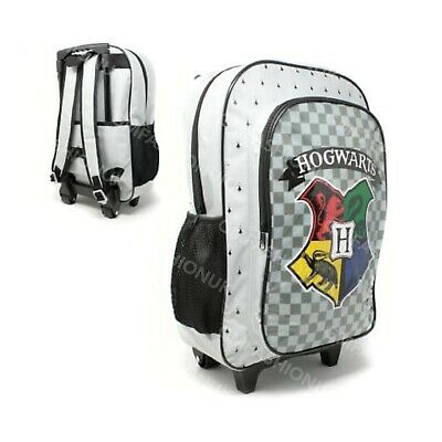 £16.97 • Buy Childrens Kids Harry Potter Character Wheel Trolley Suitcase Backpack Travel Bag