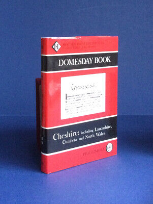 Doomsday Book : Cheshire ( Including Lancashire, Cumbria And North Wales) • 12.99£