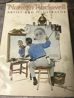 $ CDN62.65 • Buy Norman Rockwell Artist And Illustrator~ 1st Edition 1970 Book, By Abrams, 11 Lbs