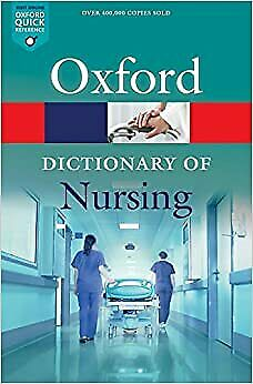 Nursing Dictionary Revised Book Oxford Quick Reference Nurses Guide Paperback ! • 6.32£