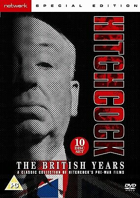 £64.99 • Buy THE BRITISH YEARS DVD A CLASSIC COLLECTION OF HITCHCOCK'S WAR FILMS UK Releas R2