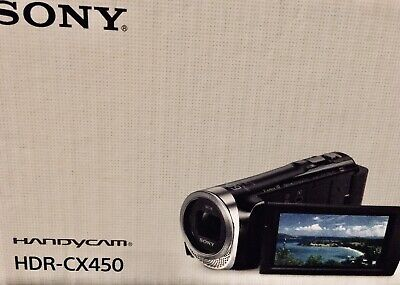 SONY HDR-cx450 Handycam Full HD 1080p Camcorder • 199.99£