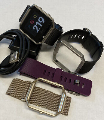 AU51.27 • Buy Fitbit Blaze FB502 Activity Tracker Small Bands With Charger