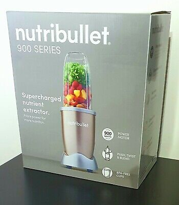 AU99.90 • Buy NutriBullet 900w Nutrient Extractor 900 Series Blender Champagne - NEW In BOX