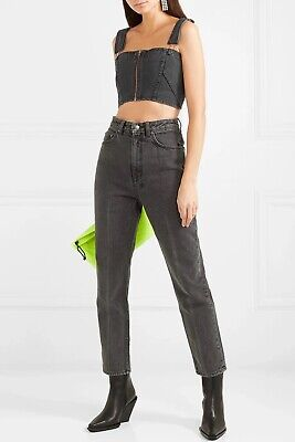 AU120 • Buy ** KSUBI **  High Wasted Black Chlo Wasted Denim Jeans Size 26