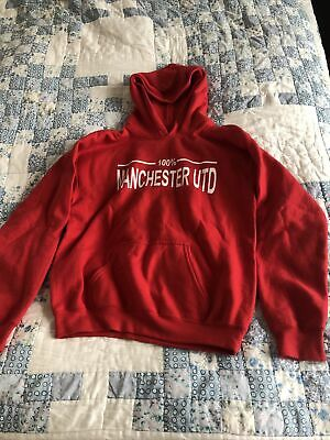 Manchester United Hoodie Youth Large • 2£