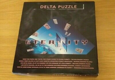 £8 • Buy Eternity Delta Puzzle Game 14 Pc Brain Teaser Age 14+