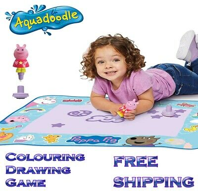 £17.99 • Buy AquaDoodle T72034 Kids' Colouring Pens & Markers, Peppa Pig Water Drawing Mats,
