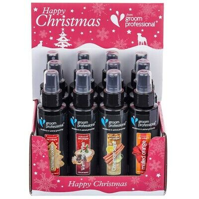 Limited Edition Groom Professional Christmas Dog Colognes  • 8.49£