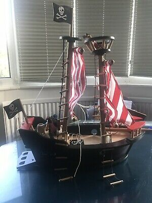 £21 • Buy Early Learning Centre ELC Wooden Pirate Ship *Collection Only*