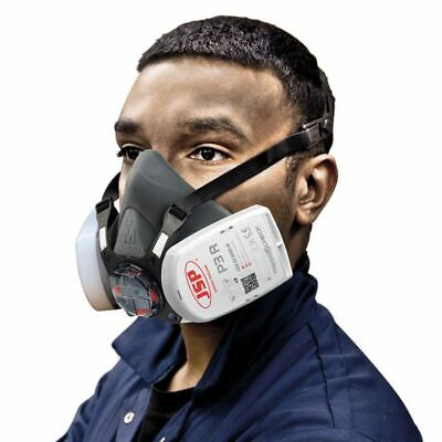 JSP Force 8 (Medium) Protective Safety Mask P3 PressToCheck Filters Included • 22.90£