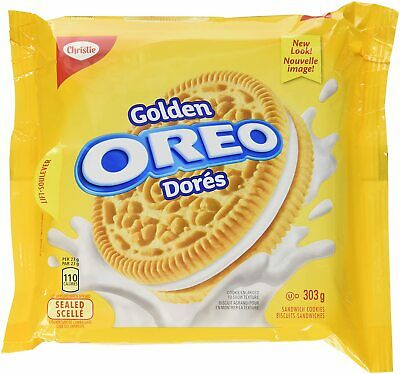 £13.05 • Buy 6PACK OREO Golden Sandwich Cookies Resealable Pack 303g -FRESH CANADA