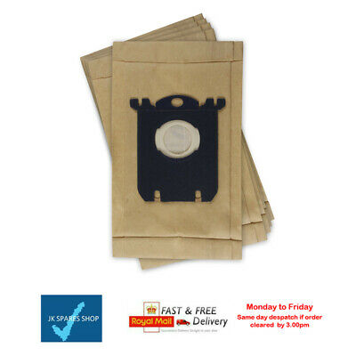5 X S-Bag Vacuum Cleaner Hoover Dust Bags For Philips • 4.95£