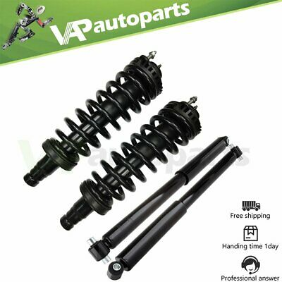 $158.35 • Buy For 2002-09 GMC Envoy Front Complete Struts Assembly + Rear Shocks Absorbers