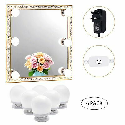 Hollywood LED Vanity Makeup Mirror Lights Dressing Table Party(4000K, Plug In) • 9.98£