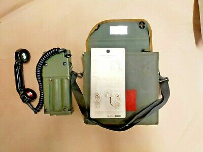 Racal No A 40 Field Telephone In Case With Instructions  • 45£