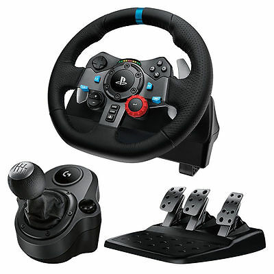 AU429 • Buy Logitech G29 Driving Force Racing Wheel And Shifter PS3 / PS4 / PC As New