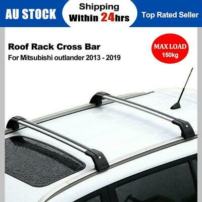 AU135.70 • Buy Roof Rack Cross Bar For Mitsubishi Outlander ZJ ZK 2012-2019 To Flush Rail