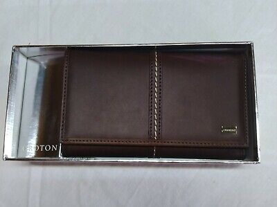 AU40.95 • Buy Brown Leather Oroton Wallet