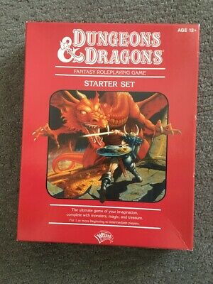 AU109 • Buy Dungeons & Dragons Fantasy Roleplaying Game - Starter Set, AS NEW - AGE: 12+