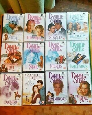 DVD's    *** Danielle Steele Collection Of 12 Films***   NEW/SEALED • 40£