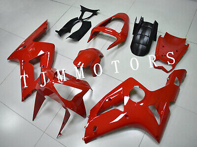 $499.99 • Buy For NINJA ZX6R 636 2003 2004 ABS Injection Mold Bodywork Fairing Kit Gloss Red