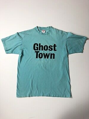 $ CDN164.13 • Buy Supreme 09SS Ghost Town T-Shirt Large Cotton Blue