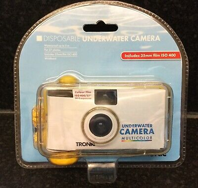 £12.95 • Buy Tronic Disposable Underwater Camera Colour, 35mm, 27 Exposures