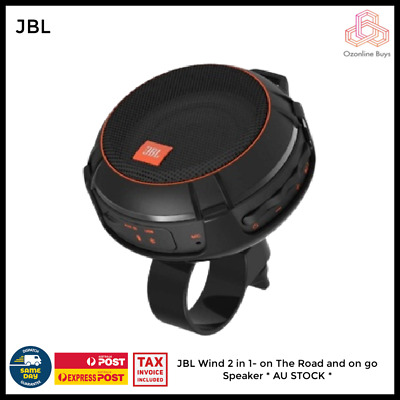 AU77 • Buy JBL Wind On The Road And On The Go Motorcycle Bike Portable Bluetooth Speaker *
