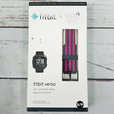 $ CDN9.70 • Buy Fitbit Versa PH5 Knit Accessory Band Size Small - Pink