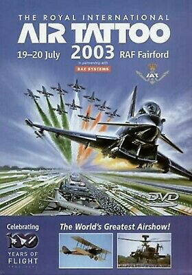 £19.99 • Buy THE ROYAL INTERNATIONAL AIR TATTOO 2003 DVD THE WORLD'S GREATEST AIRSHOW!UK Rele