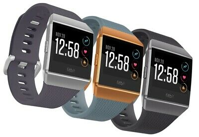 $ CDN350.33 • Buy FITBIT Ionic - Health & Fitness Smartwatch GPS & Heart Rate Monitoring Mix GRADE