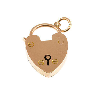 £165 • Buy Edwardian Heart Padock Pendant, 9ct Rose Gold